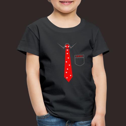 Geek | Schlips Krawatte Wissenschaft Streber - Kinder Premium T-Shirt