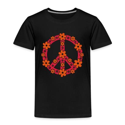 Peace Frieden Symbol Hippie Sommer Freiheit Liebe - Kinder Premium T-Shirt