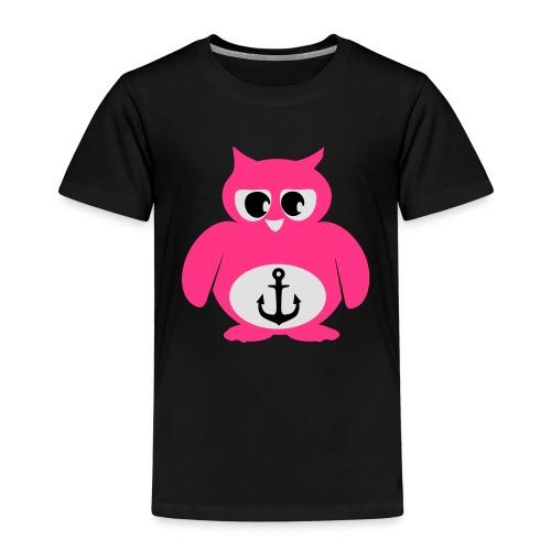 Eule Anker - Kinder Premium T-Shirt