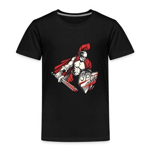 Römischer Soldat Krieger . SPQR - Kinder Premium T-Shirt