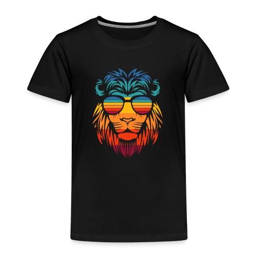 Retro Lion - Kinderen Premium T-shirt