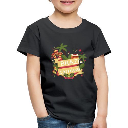 Encontro Brasil Carnival do Rio - Kids' Premium T-Shirt