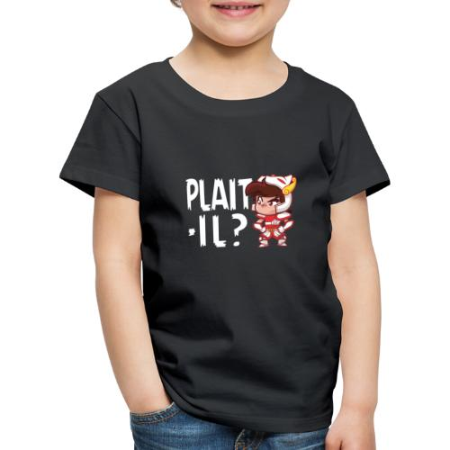 Seiya - Plaît-il ? (texte blanc) - T-shirt Premium Enfant