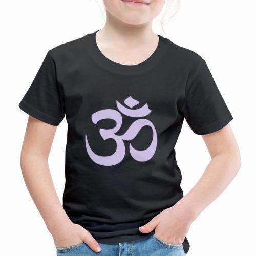 om symbol - Kinder Premium T-Shirt