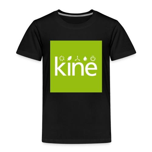 kine Logo nur für Button mit Hintergrund - Kinder Premium T-Shirt