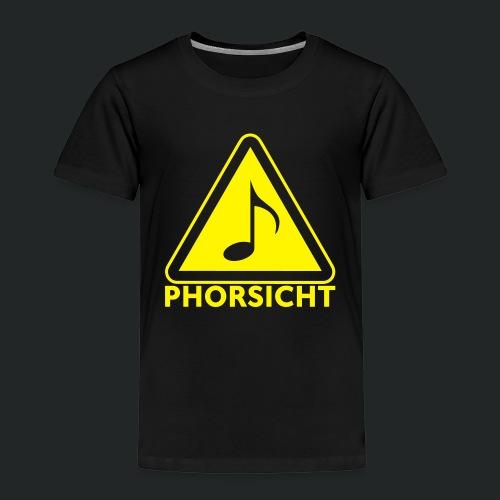 Pulli-schwarz-hinten - Kinder Premium T-Shirt