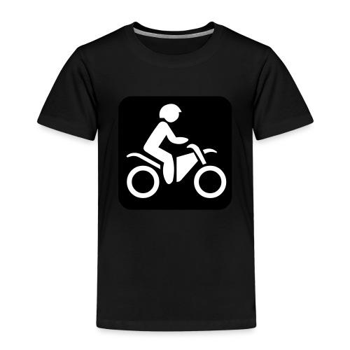 motorcycle - Lasten premium t-paita