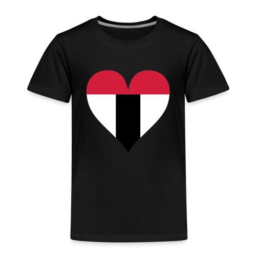 I love Baden tricolor - Kinder Premium T-Shirt