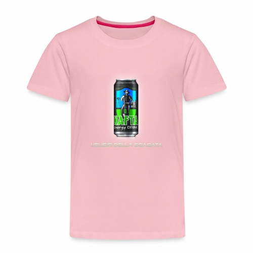 Nafta Energy Drink - Maglietta Premium per bambini