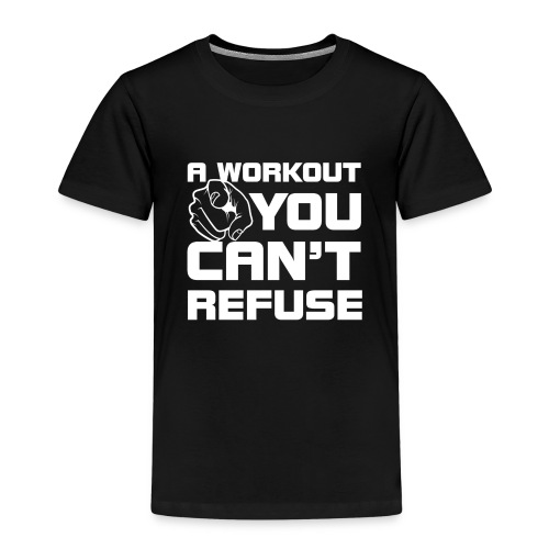 Workout white - Kinderen Premium T-shirt