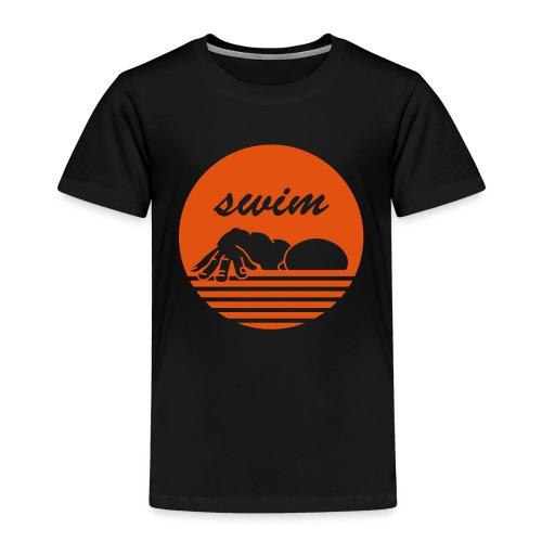 swim! Schwimmer Kraulen - Kinder Premium T-Shirt
