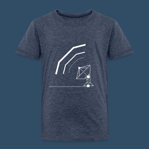 Calling All Broadcasts Satellite Dish - Kids' Premium T-Shirt