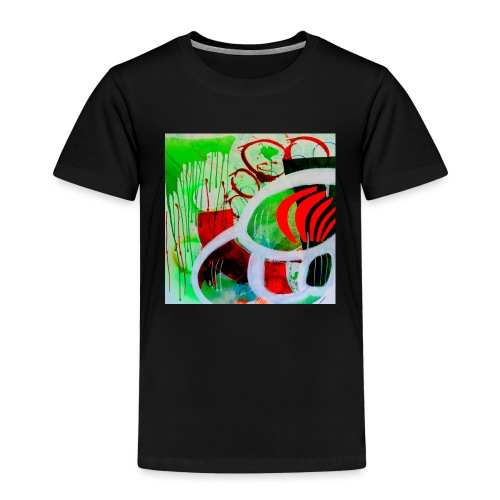 NIZE_art_t-shirt-jpg - Børne premium T-shirt