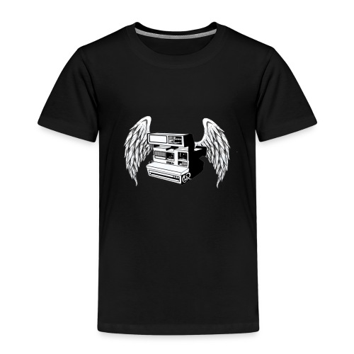 retro photo camera - Camiseta premium niño