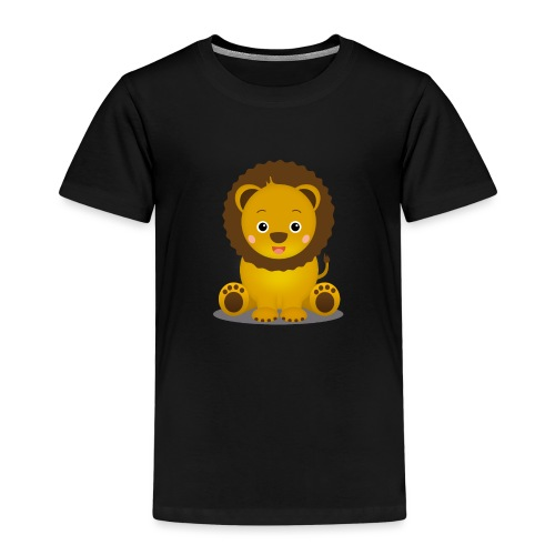 Baby Löwe Leon - Kinder Premium T-Shirt