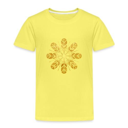 Inoue clan kamon in gold - Kids' Premium T-Shirt