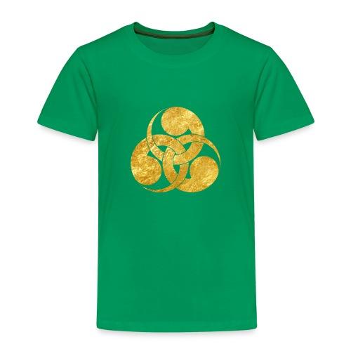 Tadpole Mon Japanese samurai clan - Kids' Premium T-Shirt