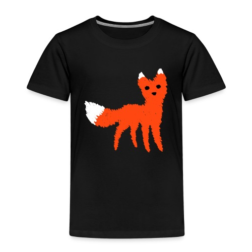 Fox - Premium T-skjorte for barn