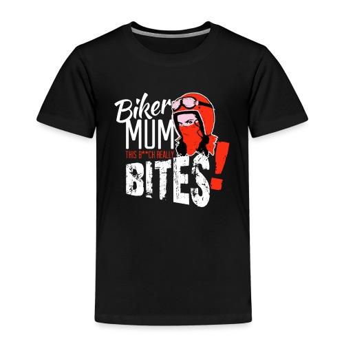 Kabes Biker Mum Bites - Kids' Premium T-Shirt