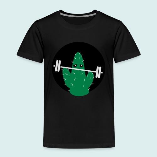 lifting cactus - Kinderen Premium T-shirt