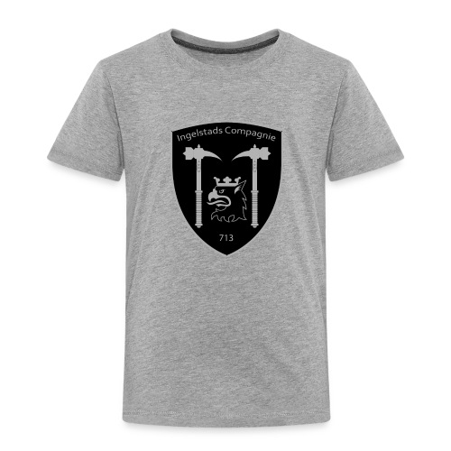 Kompanim rke 713 m nummer gray ai - Premium-T-shirt barn