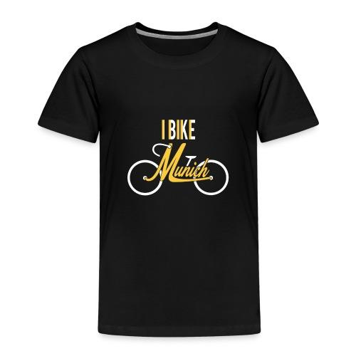 I Bike Munich - für Radlerinnen - Kinder Premium T-Shirt