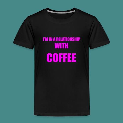 Coffe Relationship - Kids' Premium T-Shirt
