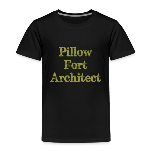 Pillow Fort Architect - Kids' Premium T-Shirt