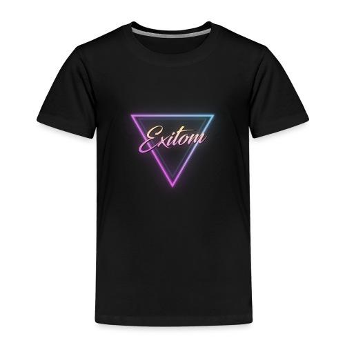 Exitom LOGO Black Women's T-Shirt - Kids' Premium T-Shirt