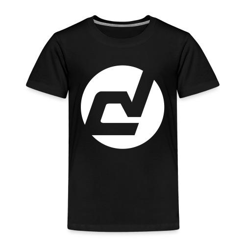 logo blanc - T-shirt Premium Enfant