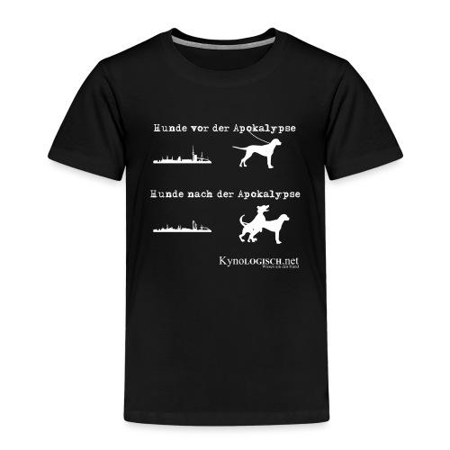 Hunde Apokalypse weiss - Kinder Premium T-Shirt
