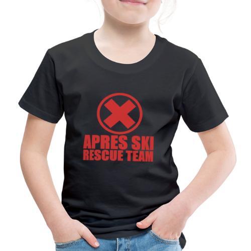 apres-ski rescue team - Kinderen Premium T-shirt