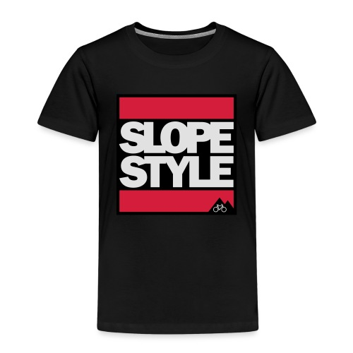 SLOPESTYLE - Kinder Premium T-Shirt