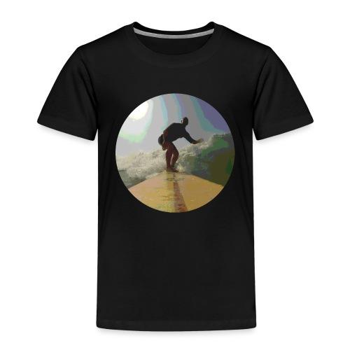 Isle_of_Surfing - Kids' Premium T-Shirt