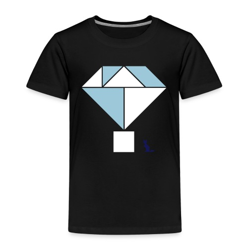 En mode tangram - Diamond - T-shirt Premium Enfant