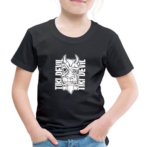tiki devil - Kinder Premium T-Shirt