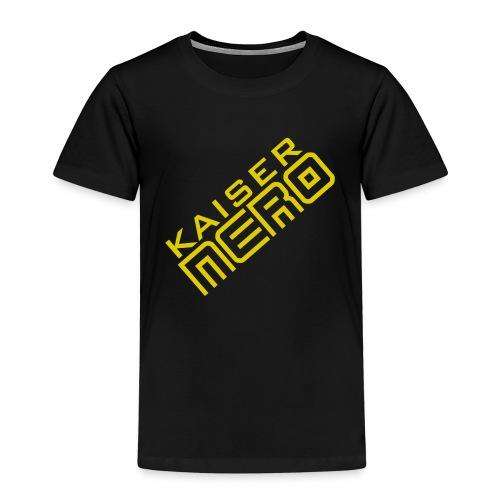 19758 2Ckaiser NERO Logo schraeg Plus - Kids' Premium T-Shirt