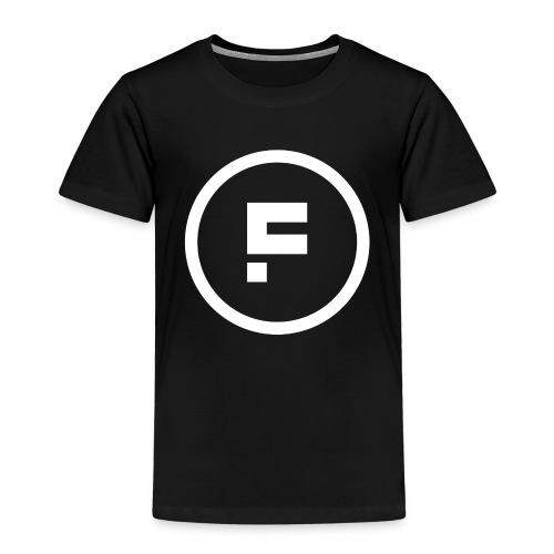 Logo Rond Wit Fotoclub - Kinderen Premium T-shirt