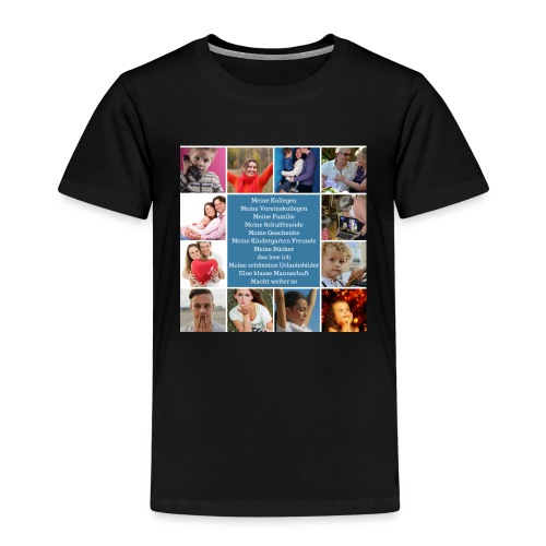 Motiv 4 Design vor Kauf siehe unten - Kinder Premium T-Shirt