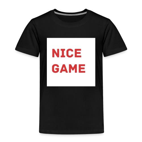 Nice Game - Kinder Premium T-Shirt