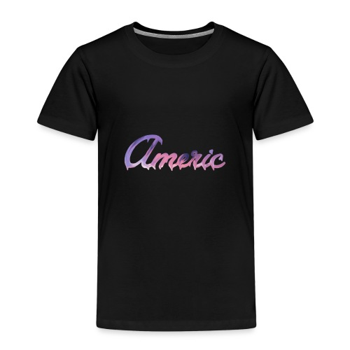 Pink paint logo - Kinderen Premium T-shirt