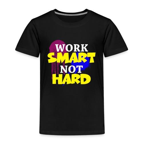 travailler intelligemment pas difficile - T-shirt Premium Enfant