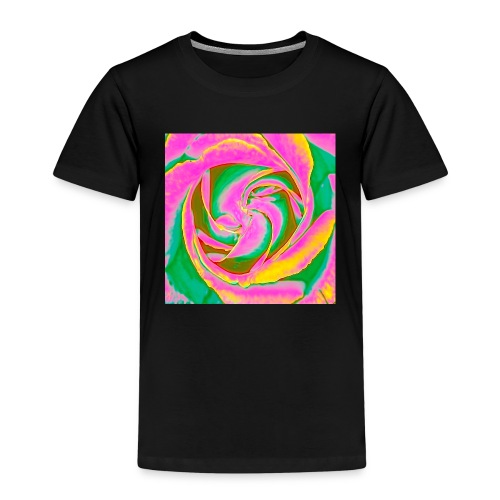 Psychedelic Rose - Kids' Premium T-Shirt