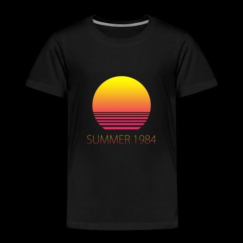 Summer 1984 - Vaporwave - T-shirt Premium Enfant