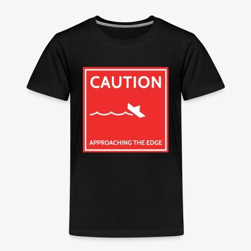 caution - Kinderen Premium T-shirt
