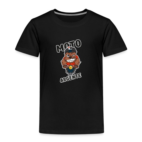 moto argente - T-shirt Premium Enfant