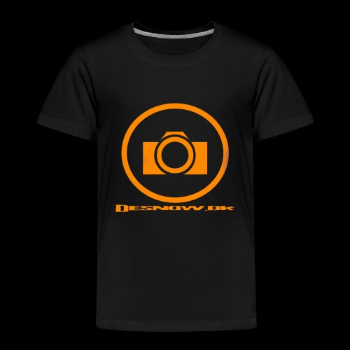 Orange 2 png - Børne premium T-shirt