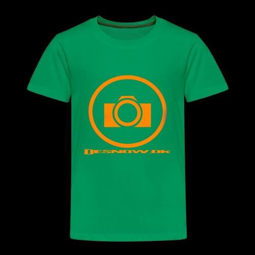 Orange 2 png - Børne premium T-shirt