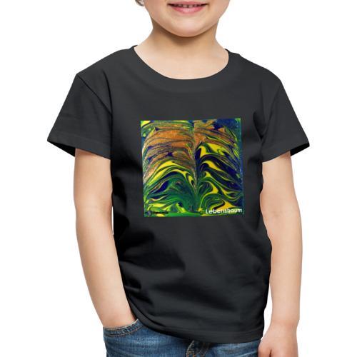 TIAN GREEN Mosaik DE029 - Lebensbaum - Kinder Premium T-Shirt