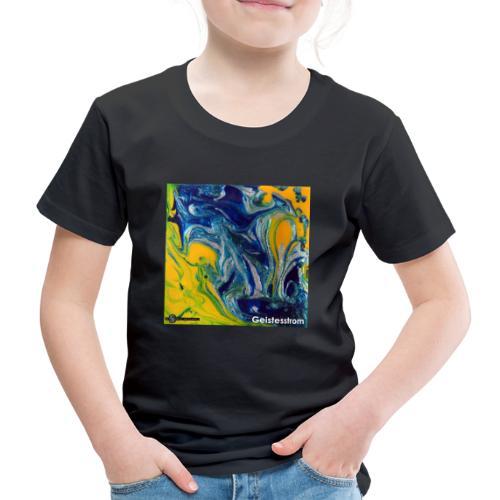 TIAN GREEN Mosaik DE031 - Geistesstrom - Kinder Premium T-Shirt